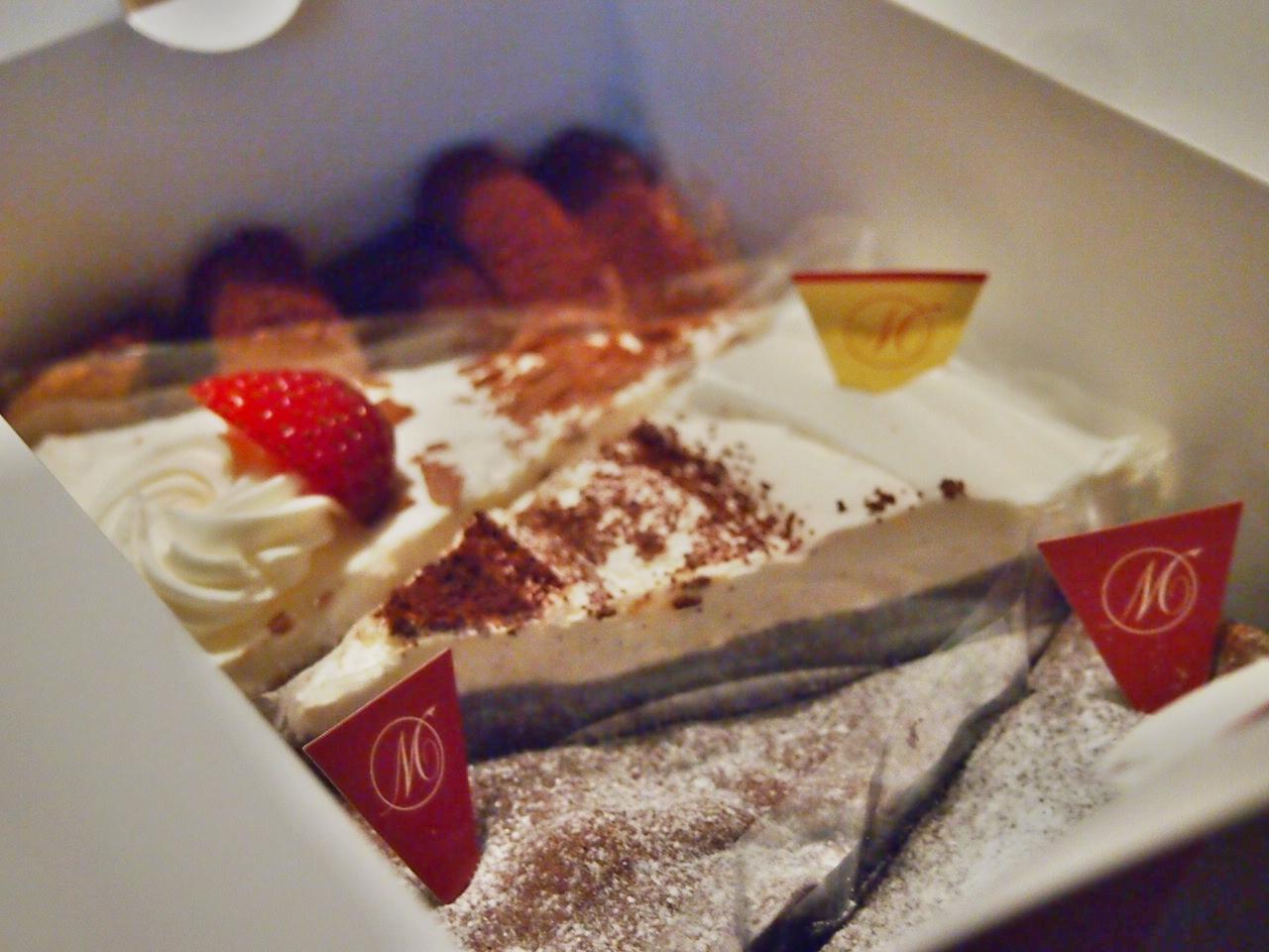 1つ100円のケーキ