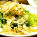 【食】小松菜ブーム、うどん、たこ焼き