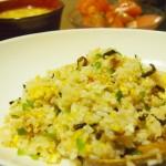 【食】焼飯、麻婆豆腐、トマト(マイブーム)