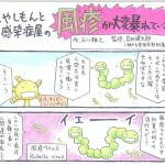 風疹についてわかりやすい漫画~初夏がピーク