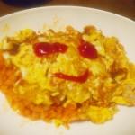 【食】オムライス・・・見た目が・・・