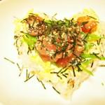 【食】ハートのちらし寿司