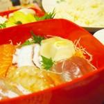 【食】手巻き寿司、かつおのたたき