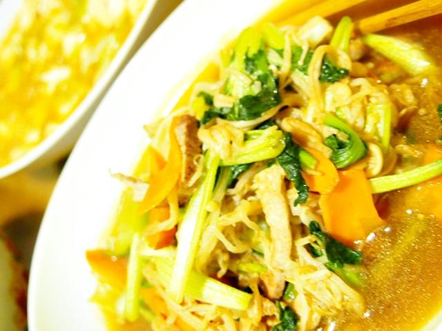 野菜炒め焼肉風