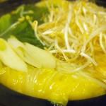 【食】野菜いっぱい鍋