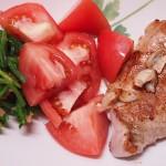 【食】豚肉ステーキ風