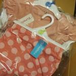 楽天スーパーセールで出産準備品の買い物(西松屋)