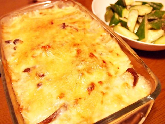 【食】野菜のグラタン