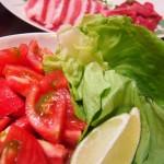 トマトとサラダ菜