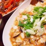 【食】酢豚、麻婆豆腐、今年初スイカ