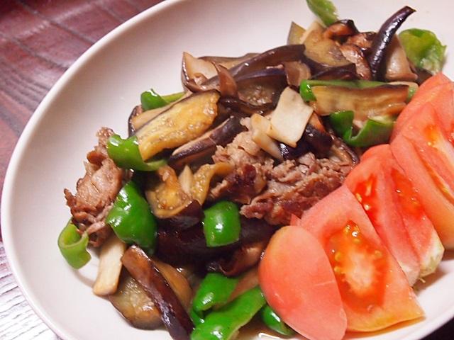 野菜炒め トマト