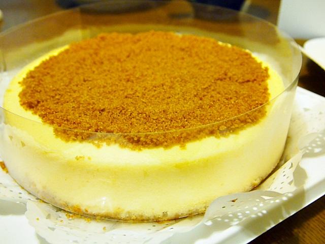 パパジョンズのチーズケーキ