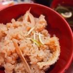 【食】マツタケご飯、茶碗蒸