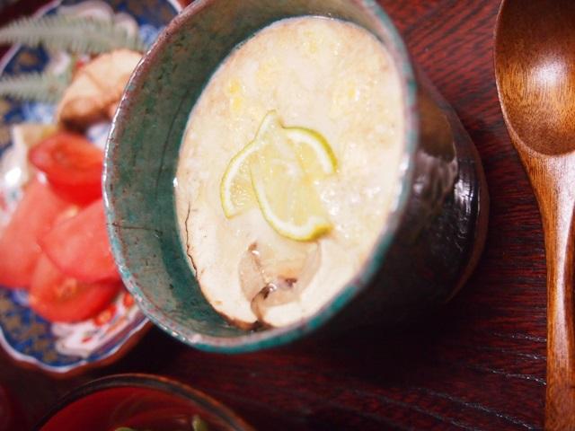 マツタケ茶碗蒸