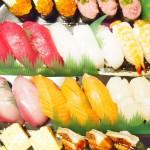 【食】気持ち悪くなり夕飯が作れず寿司の出前をとる