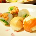 【食】初めて作った手毬寿司