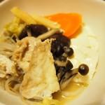 【食】カワハギの鍋