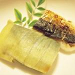 【食】お取り寄せ押し寿司、イカ焼きそば