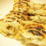 【食】餃子、塩キャベツ