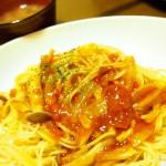 【食】キノコミートパスタ