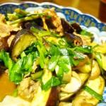 【食】焼肉風炒め物(夫が作る)