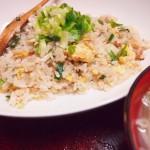 【食】焼き飯、もやしスープ