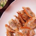 【食】手作り餃子